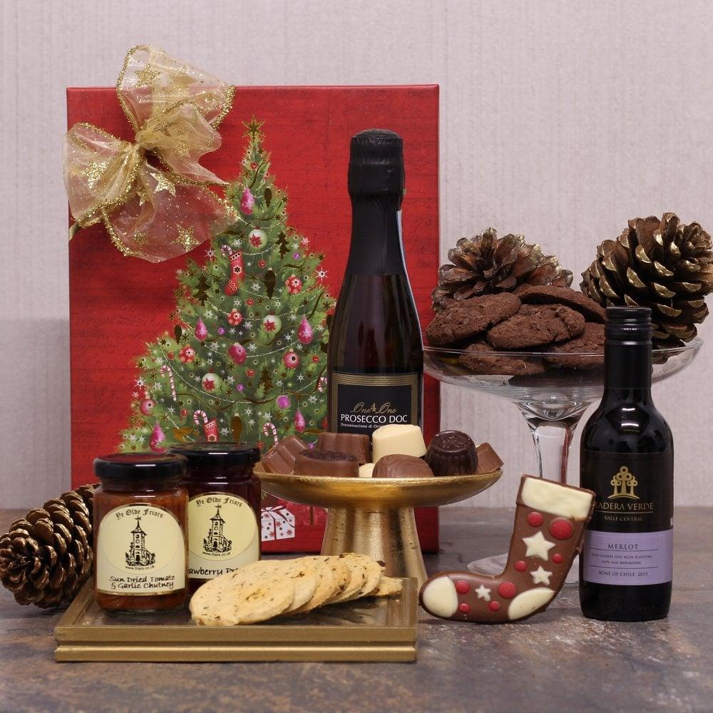 Luxury Wine Christmas Gift Hamper