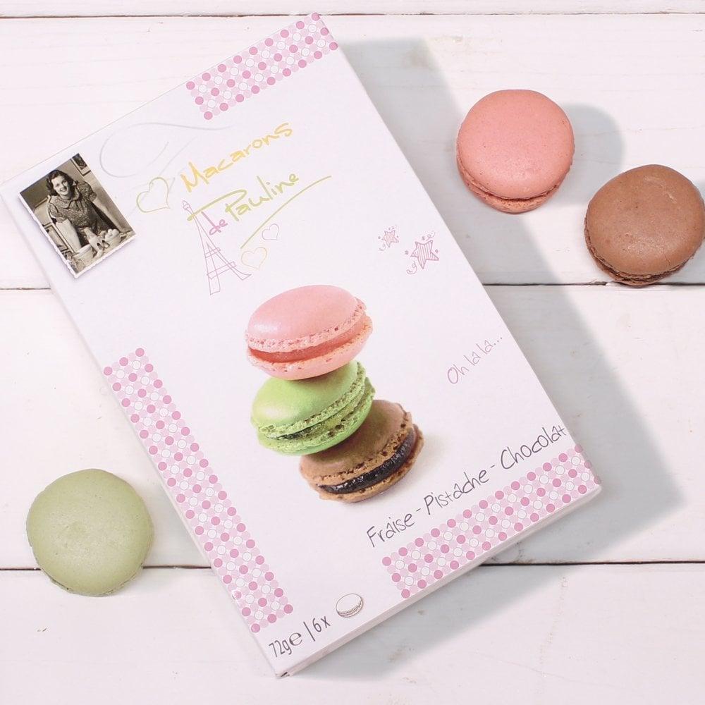 Macarons De Pauline Macarons Gift Box - 6 Macarons  sc 1 st  Friars & Macarons Gift Box 72g