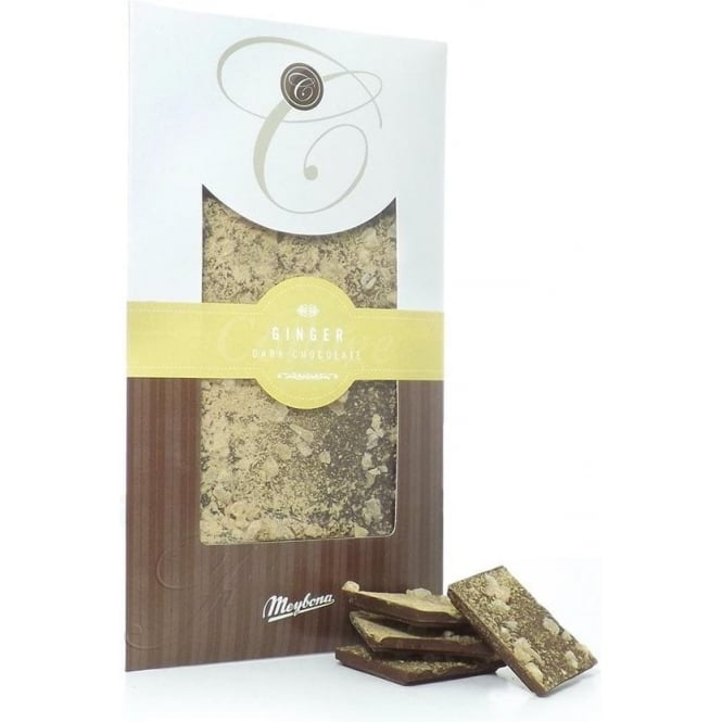 Meybona Dark Chocolate with Ginger Bar