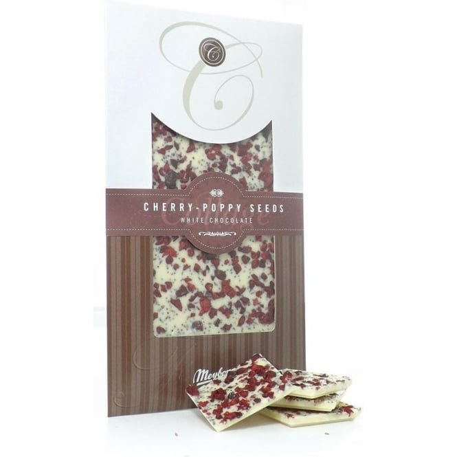 Meybona White Chocolate with Cherry and Poppy Bar