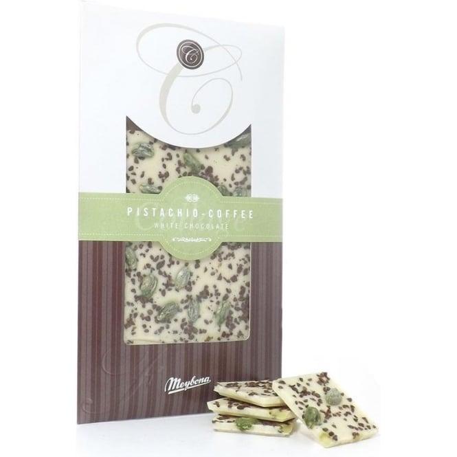 Meybona White Chocolate with Pistachio and Coffee Bar