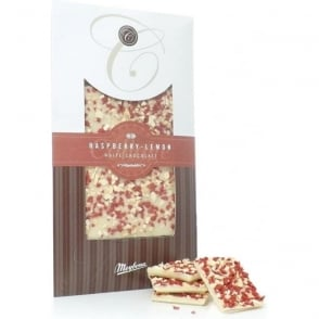 Meybona White Chocolate with Raspberry and Lemon Bar