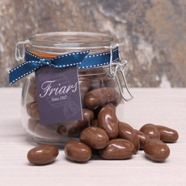 Milk Chocolate Brazil Nuts Gift Jar