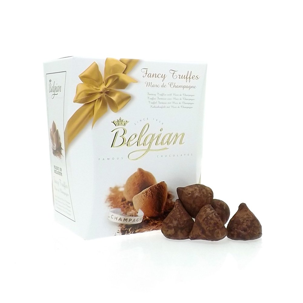 Milk Chocolate Cocoa Dusted Champagne Truffles - from Friars UK