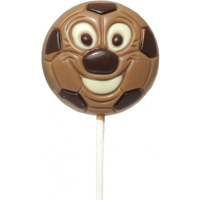 Milk Chocolate Football Lolly