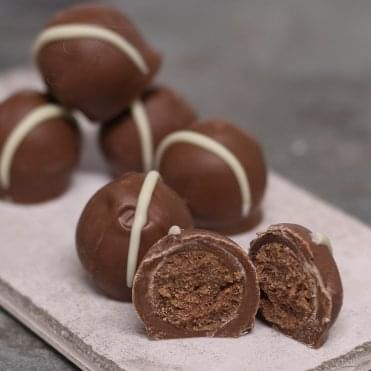 Milk Chocolate Gin Truffles