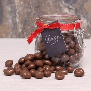 Milk Chocolate Raisins Gift Jar