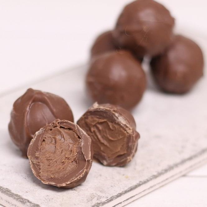 Milk Chocolate Whisky Truffles
