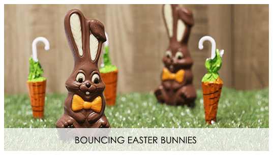 Bouncing Easter Bunnies