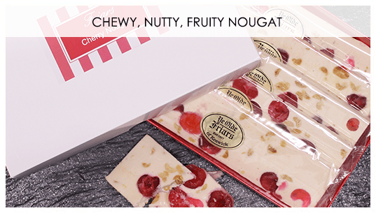 Chewy, Nutty, Fruity Nougat