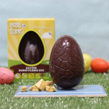 Vegan, Dairy & Wheat Free Honeycomb Easter Egg