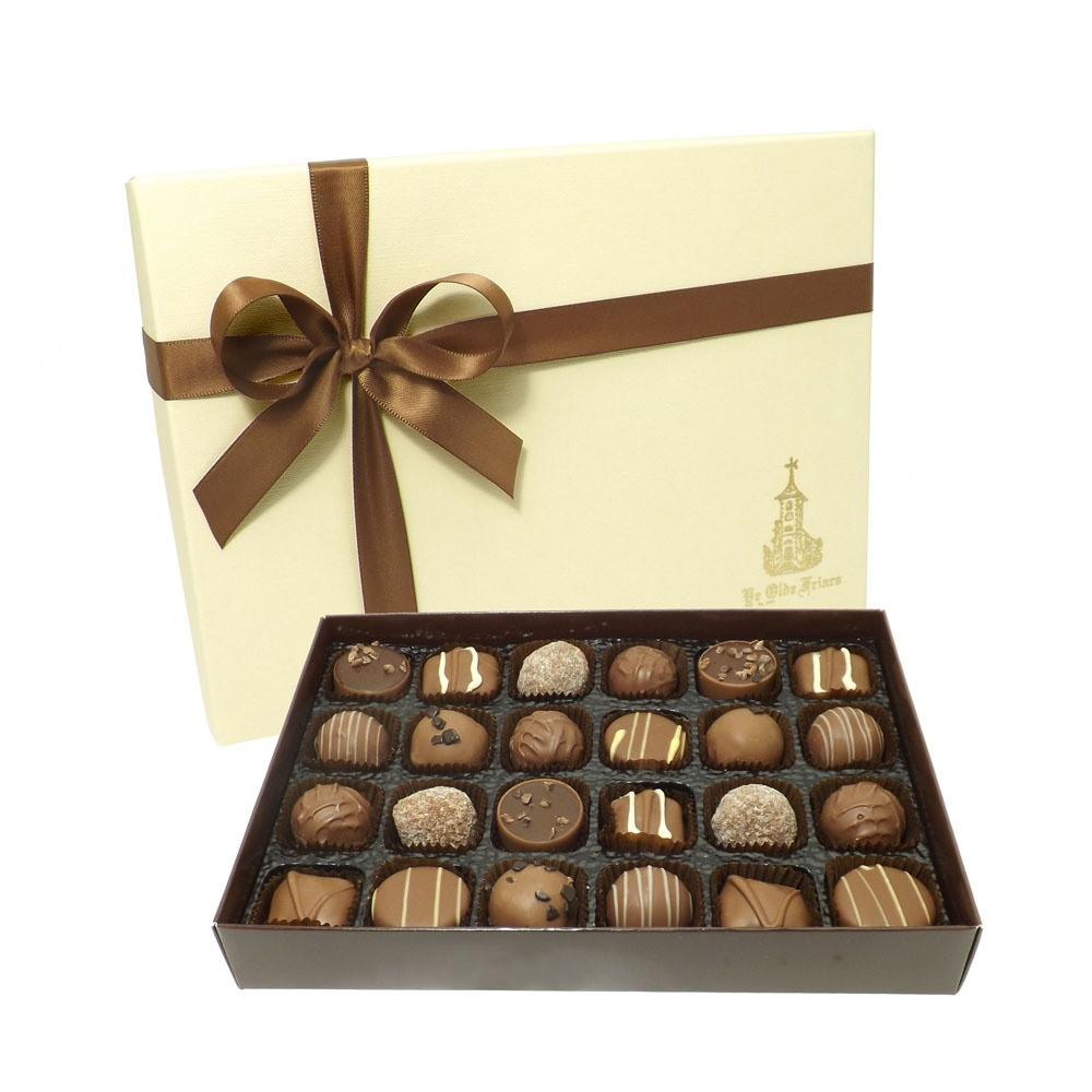 Gift Box Of Chocolates : Buy mouthwatering milk selection chocs