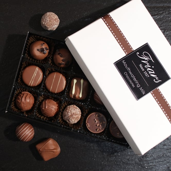 Mouthwatering Milk Chocolates - 15 Chocolates