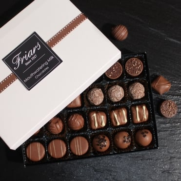 Mouthwatering Milk Chocolates - 24 Chocolates