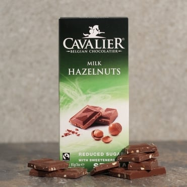 No Added Sugar Milk Hazelnut Chocolate Bar