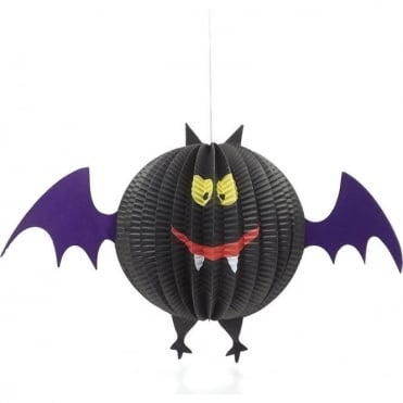 Paper Bat Halloween Decoration