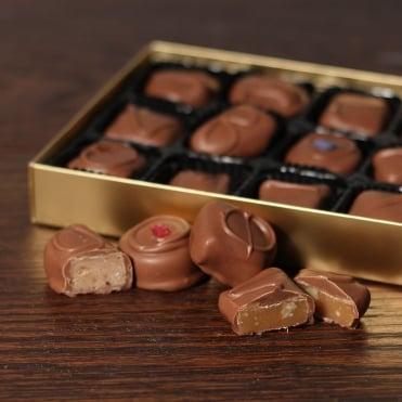 Hand Made Milk Chocolates -15 Chocolates