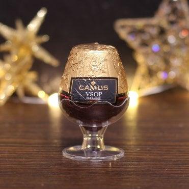 Cognac Liqueur Chocolate Goblet