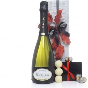 Prosecco Christmas Gift Box