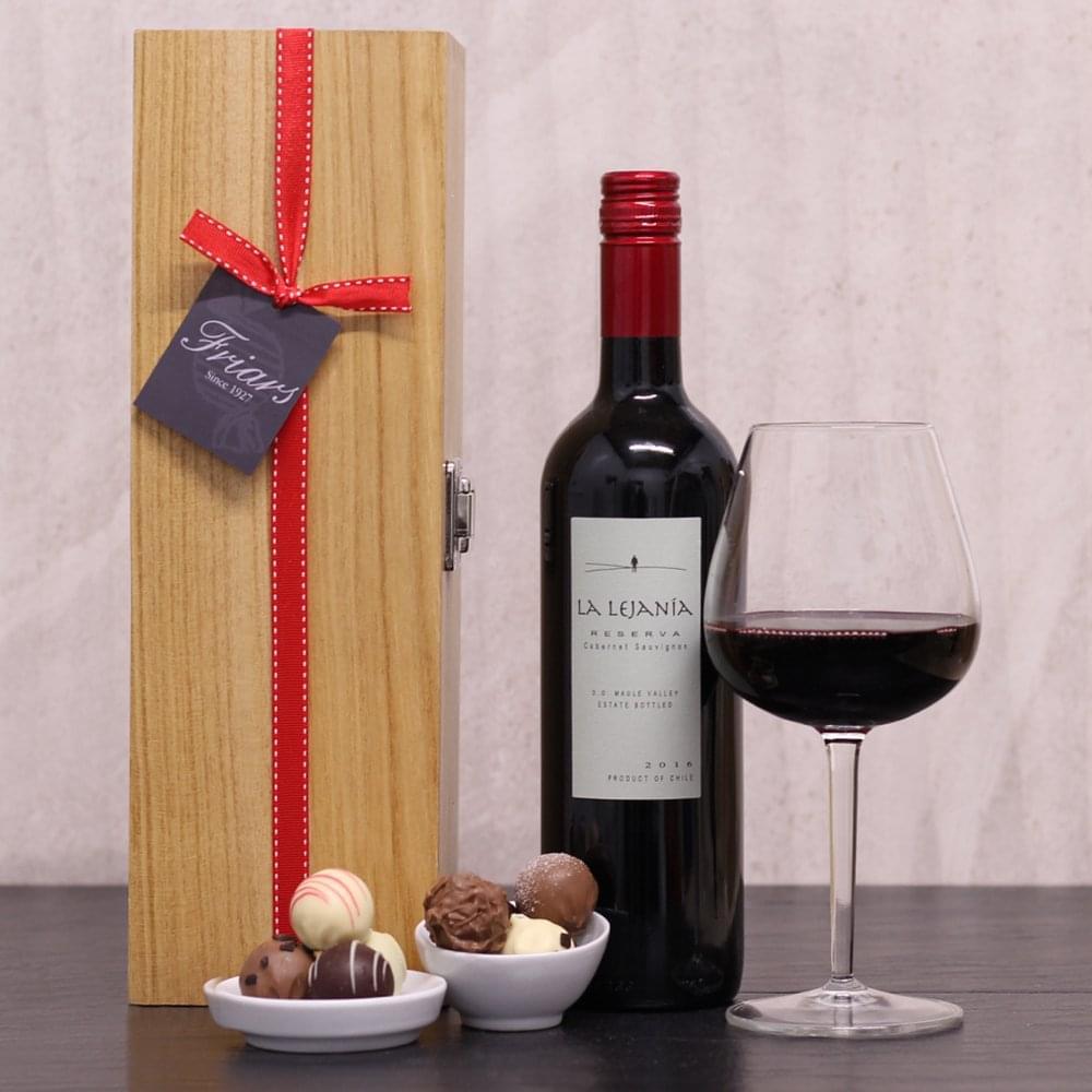 Red Wine Chocolate Gift Box
