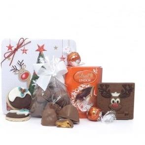 Rudolph Gift Tin - No Alcohol