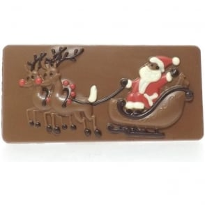 Santa Chocolate Bar