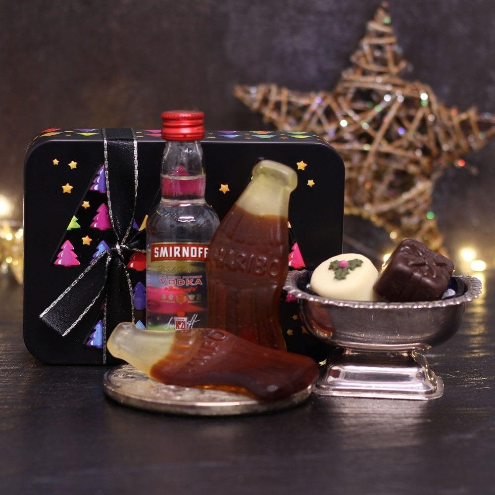 Friars Smirnoff Vodka Christmas Gift Tin