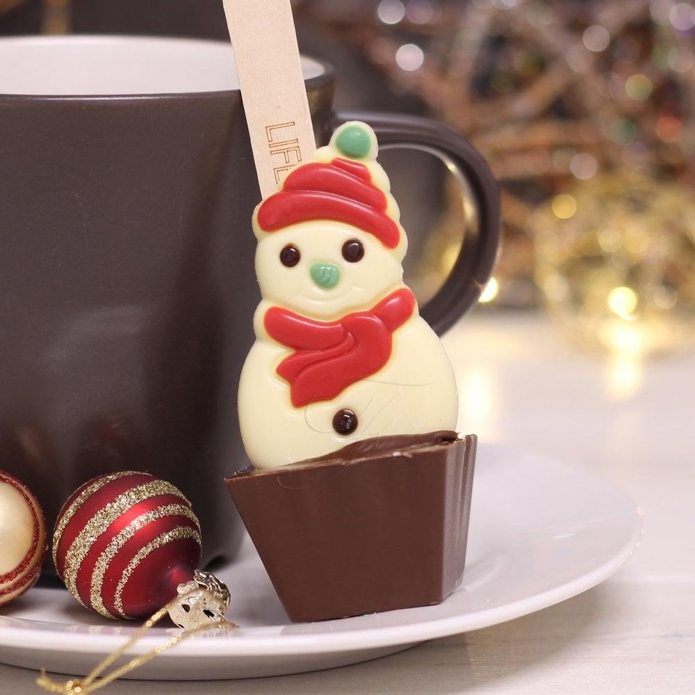 Snowman Hot Chocolate Spoon