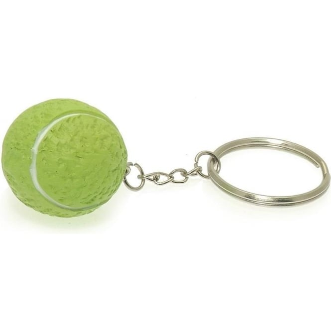 Tennis Ball Keyring