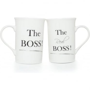 The Boss Mug Set