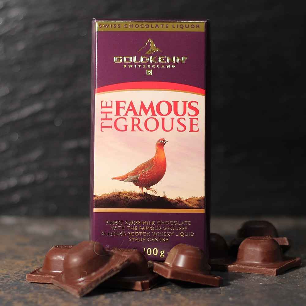 buy the famous grouse liqueur chocolate bar