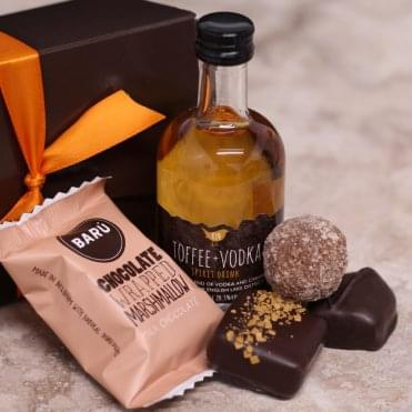 Toffee Vodka Miniature Gift Box