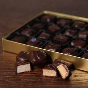 Traditional Hand Made Dark Chocolates - 24 Chocolates