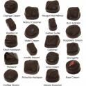 Traditional Hand Made Dark Chocolates - 24 Chocs