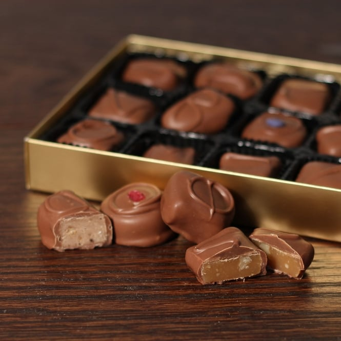 Traditional Hand Made Milk Chocolates -15 Chocolates