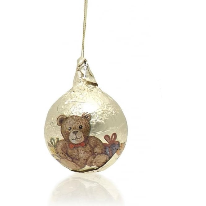 Traditional Teddy Chocolate Bauble