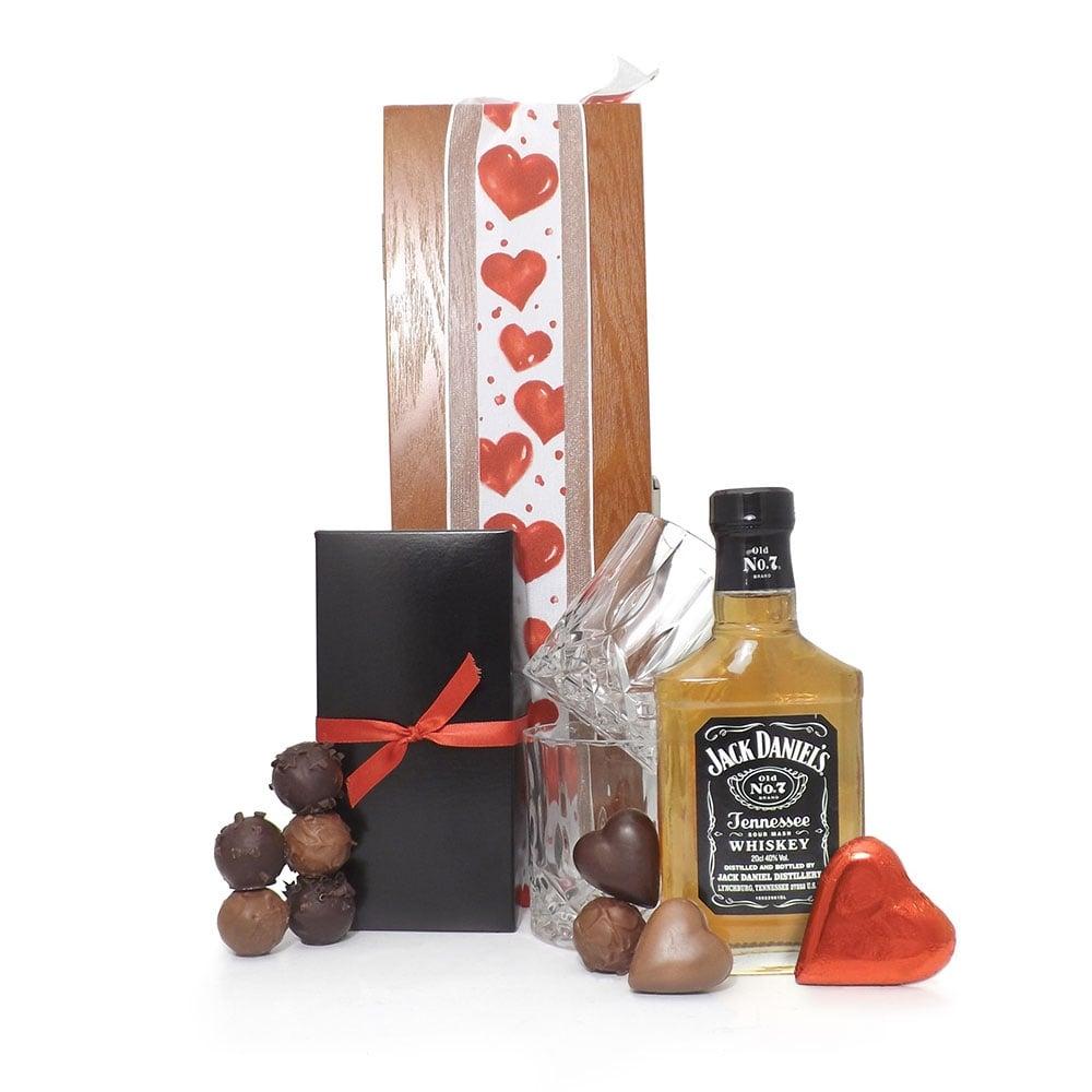 Valentine Jack Daniels Luxury Gift Box