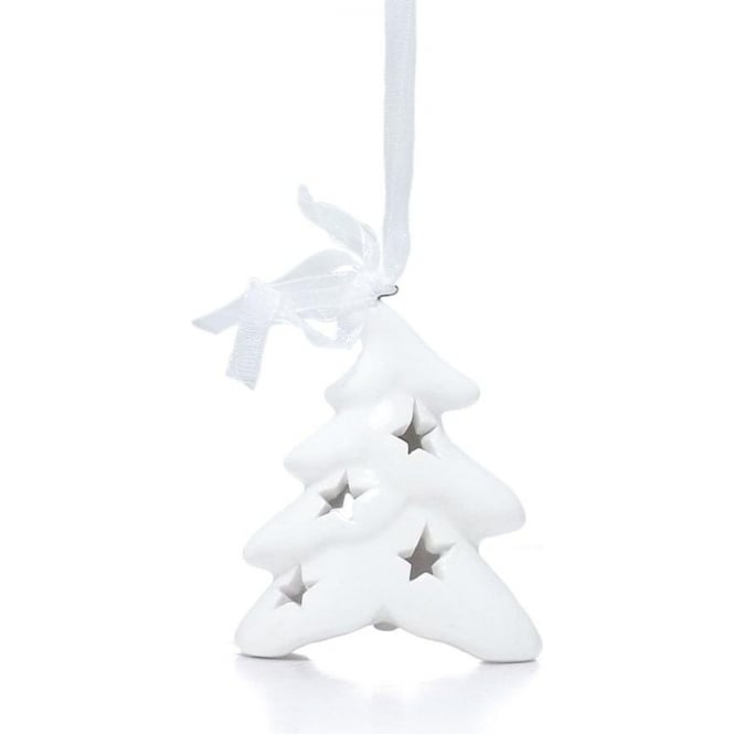 White Tree Decoration