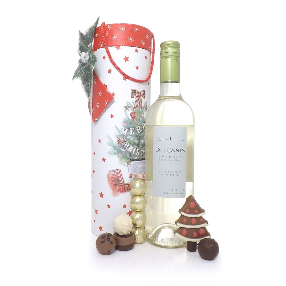 Buy White Wine Christmas Gift Set